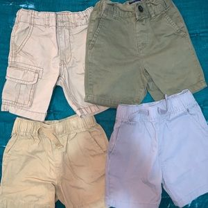 THE CHILDRENS PLACE. Lot of toddler shorts.